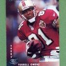 1997 Donruss Football #039 Terrell Owens - San Francisco 49ers