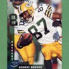 1997 Donruss Football #034 Robert Brooks - Green Bay Packers