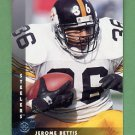 1997 Donruss Football #030 Jerome Bettis - Pittsburgh Steelers