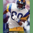 1997 Donruss Football #028 Isaac Bruce - St. Louis Rams
