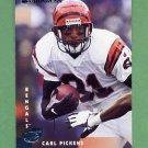 1997 Donruss Football #027 Carl Pickens - Cincinnati Bengals