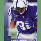 1997 Donruss Football #024 Marvin Harrison - Indianapolis Colts
