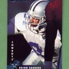 1997 Donruss Football #020 Deion Sanders - Dallas Cowboys