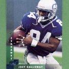 1997 Donruss Football #019 Joey Galloway - Seattle Seahawks