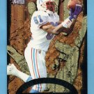 1996 Metal Football Goldfingers #7 Chris Sanders - Houston Oilers