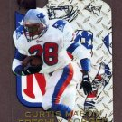 1996 Metal Football Freshly Forged #7 Curtis Martin - New England Patriots