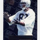 1996 Metal Football #128 Rickey Dudley RC - Oakland Raiders