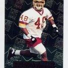1996 Metal Football #127 Stephen Davis RC - Washington Redskins