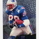 1996 Metal Football #074 Curtis Martin - New England Patriots