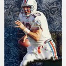 1996 Metal Football #066 Dan Marino - Miami Dolphins