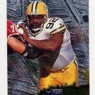 1996 Metal Football #046 Reggie White - Green Bay Packers
