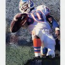 1996 Metal Football #034 Terrell Davis - Denver Broncos