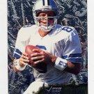 1996 Metal Football #029 Troy Aikman - Dallas Cowboys