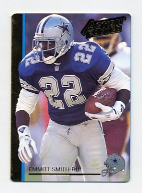 1992 Action Packed Football #056 Emmitt Smith - Dallas Cowboys