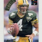 1994 Action Packed Football #183 Brett Favre QC - Green Bay Packers