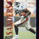 1995 Action Packed Football #117 Frank Sanders RC - Arizona Cardinals