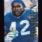 1995 Action Packed Football #032 Chris Warren - Seattle Seahawks