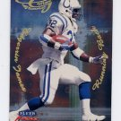1999 Fleer Focus Football Glimmer Men #9R Edgerrin James - Indianapolis Colts