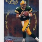 1999 Fleer Focus Football Glimmer Men #6R Brett Favre - Green Bay Packers
