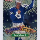 1999 Fleer Focus Football Sparklers #14S Brock Huard - Seattle Seahawks
