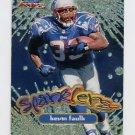 1999 Fleer Focus Football Sparklers #8S Kevin Faulk - New England Patriots