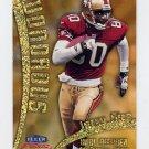 1999 Fleer Focus Football Wondrous #5W Jerry Rice - San Francisco 49ers