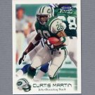 1999 Fleer Focus Football Stealth #083 Curtis Martin - New York Jets /300