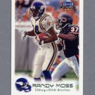 1999 Fleer Focus Football Stealth #001 Randy Moss - Minnesota Vikings /300