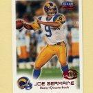 1999 Fleer Focus Football #167 Joe Germaine RC - St. Louis Rams /2250