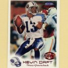 1999 Fleer Focus Football #166 Kevin Daft RC - Tennessee Titans /2250