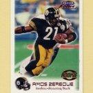 1999 Fleer Focus Football #160 Amos Zereoue RC - Pittsburgh Steelers /2500