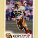 1999 Fleer Focus Football #155 De'mond Parker RC - Green Bay Packers /2500