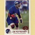 1999 Fleer Focus Football #154 Joe Montgomery RC - New York Giants /2500