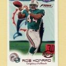 1999 Fleer Focus Football #151 Rob Konrad RC - Miami Dolphins /2500 Ex