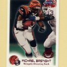 1999 Fleer Focus Football #138 Michael Basnight RC - Cincinnati Bengals /2500