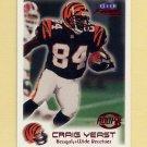 1999 Fleer Focus Football #135 Craig Yeast RC - Cincinnati Bengals /3850