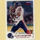 1999 Fleer Focus Football #112 D'Wayne Bates RC - Chicago Bears /3850