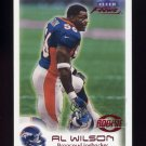 1999 Fleer Focus Football #109 Al Wilson RC - Denver Broncos