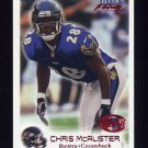 1999 Fleer Focus Football #108 Chris McAlister RC - Baltimore Ravens