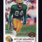 1999 Fleer Focus Football #104 Antuan Edwards RC - Green Bay Packers