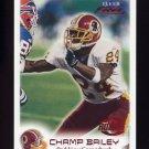1999 Fleer Focus Football #101 Champ Bailey RC - Washington Redskins