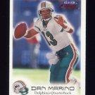 1999 Fleer Focus Football #097 Dan Marino - Miami Dolphins