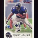 1999 Fleer Focus Football #091 Priest Holmes - Baltimore Ravens