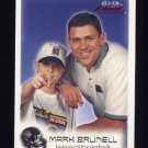 1999 Fleer Focus Football #089 Mark Brunell - Jacksonville Jaguars