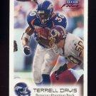 1999 Fleer Focus Football #088 Terrell Davis - Denver Broncos