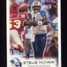 1999 Fleer Focus Football #084 Steve McNair - Tennessee Titans