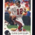 1999 Fleer Focus Football #076 Chris Chandler - Atlanta Falcons