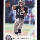 1999 Fleer Focus Football #071 Rich Gannon - Oakland Raiders