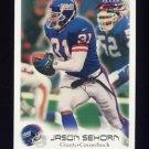 1999 Fleer Focus Football #066 Jason Sehorn - New York Giants
