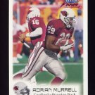 1999 Fleer Focus Football #055 Adrian Murrell - Arizona Cardinals
